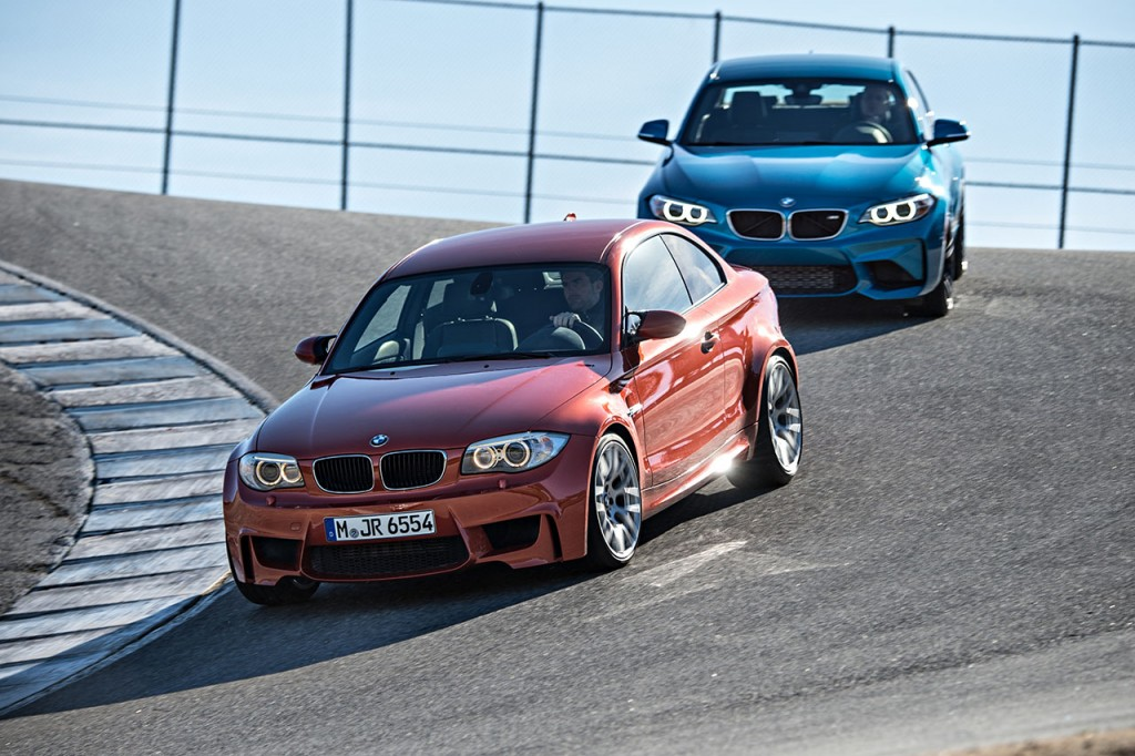 The BMW 1M vs the M2 is a much more nuanced battle than you'd expect.