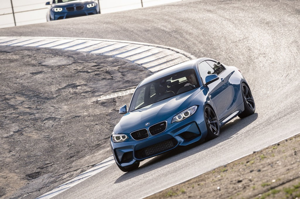 BMW M2 Coupe in Cork Screw Corner Laguna Seca