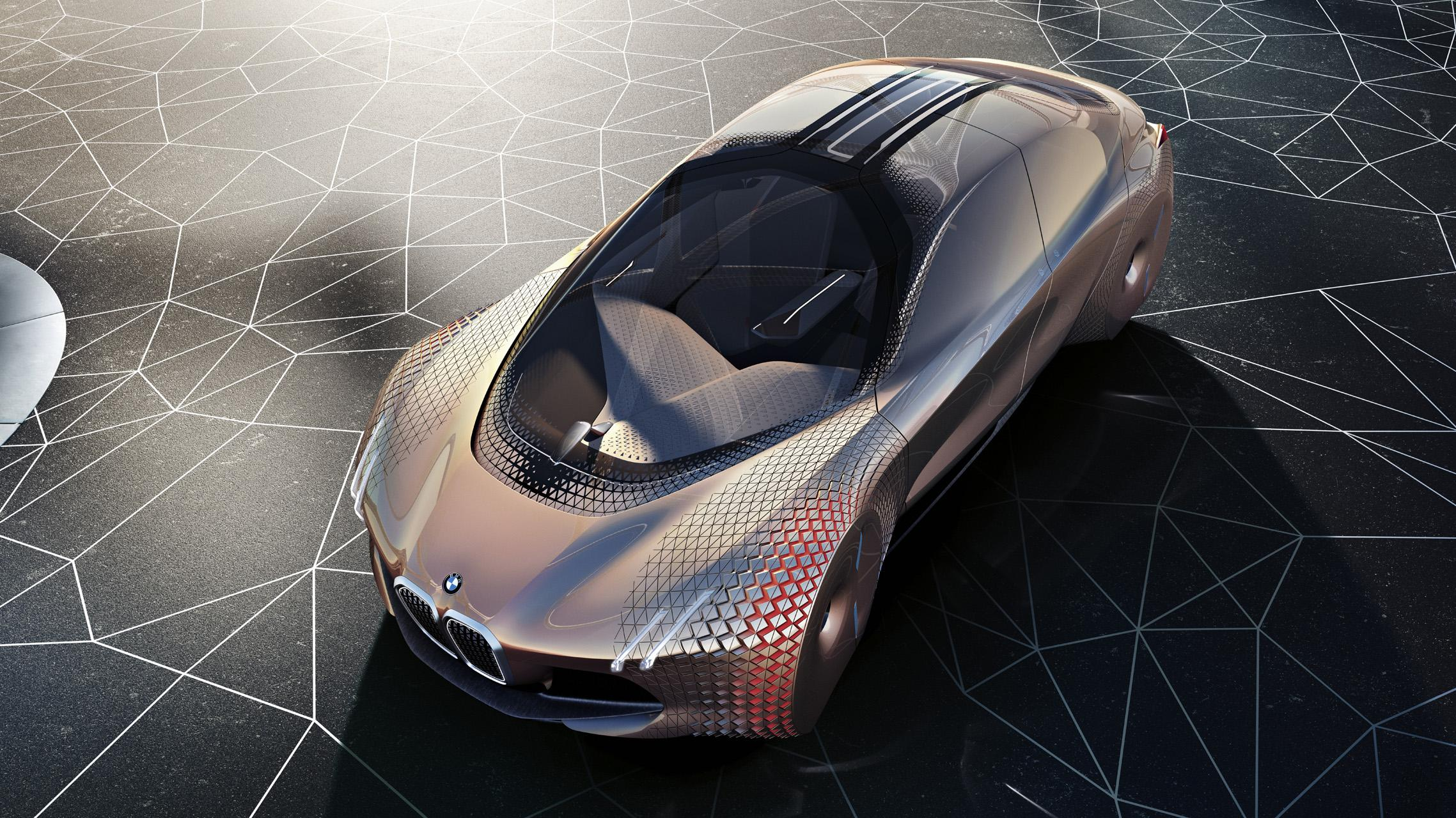 The Bmw Vision Next 100 Concept Car Videos Bimmerfile