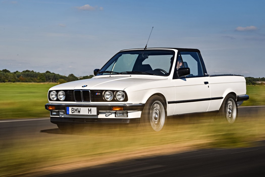 M3 Week: The Secret E30 M3 Truck Prototype - BimmerFile