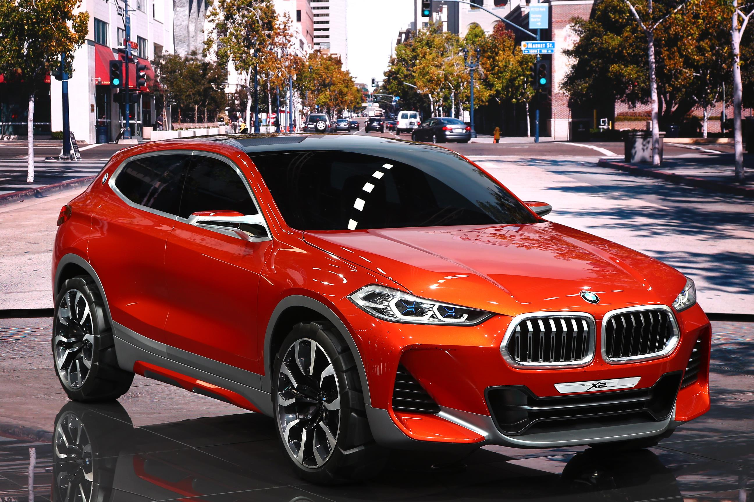The BMW X2 Concept