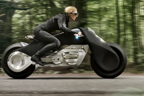World Premier: The BMW Vision Next 100 Motorrad Concept: The Great Escape