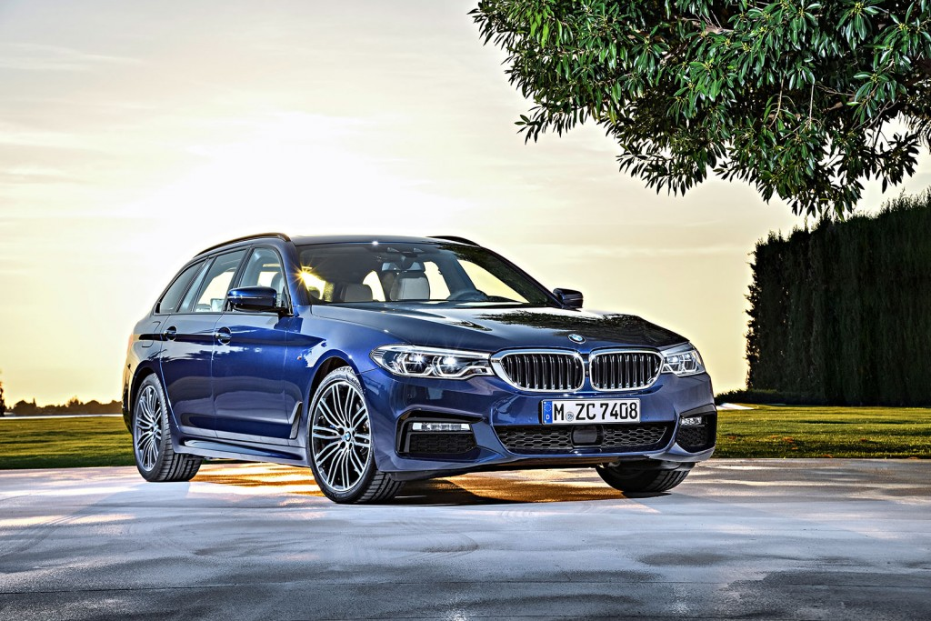 World Premier The 2018 Bmw 5 Series Wagon Bimmerfile