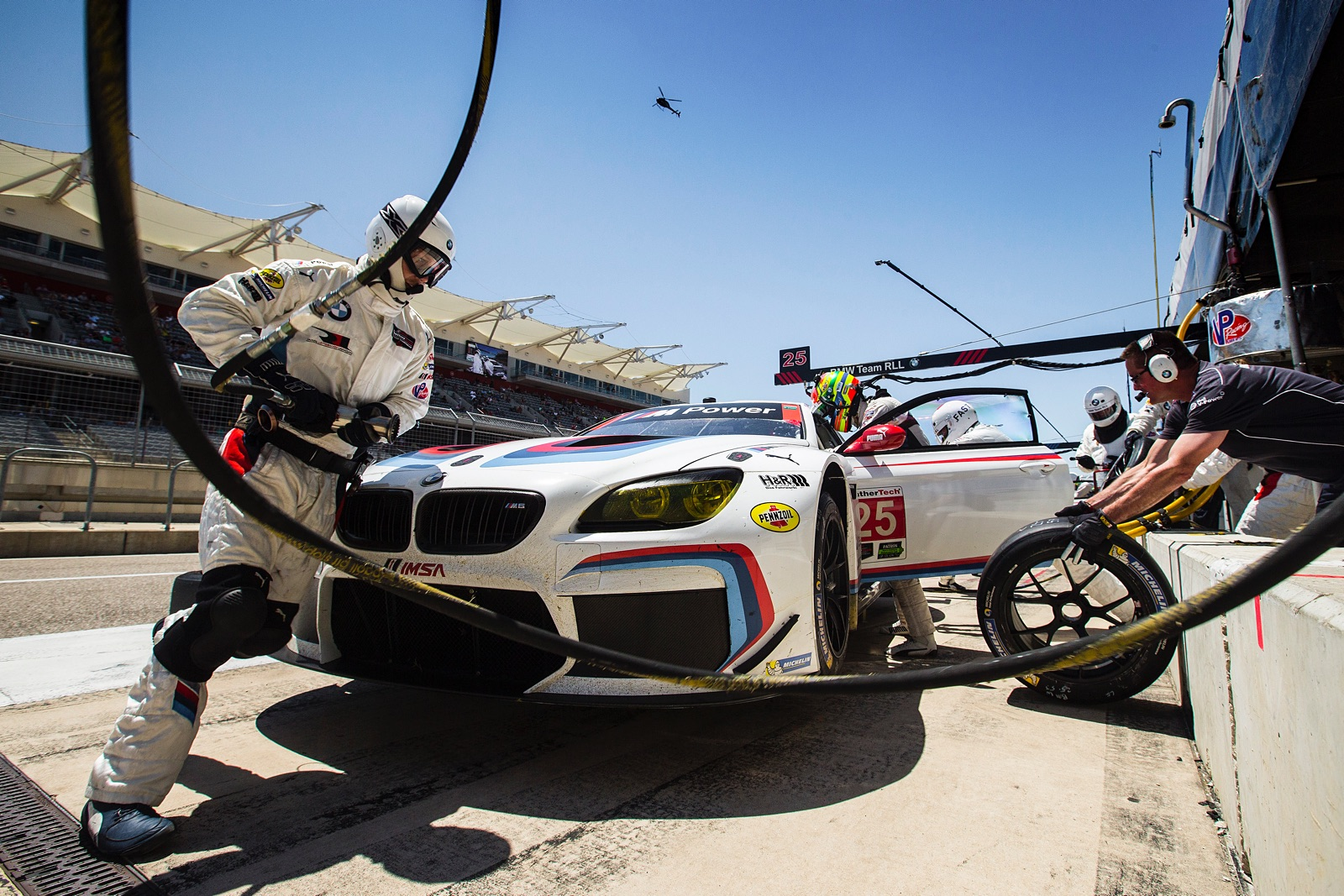 BMW Team RLL Scores a Double Podium at COTA - BimmerFile