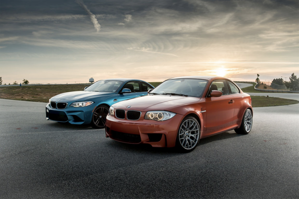 automobile magazine pits the bmw 1m against the bmw m2 bimmerfile. Black Bedroom Furniture Sets. Home Design Ideas