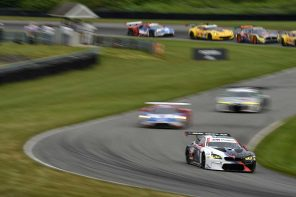 BMW Team RLL Scores a Podium Finish at Lime Rock Park