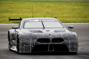 The BMW M8 GTE Race Car Debuts on the Track