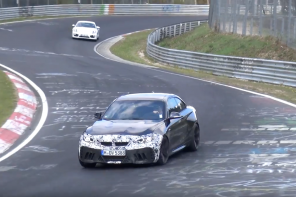 The 2019 BMW M2 CS is Testing on the 'Ring this Week and This is What it Looks Like
