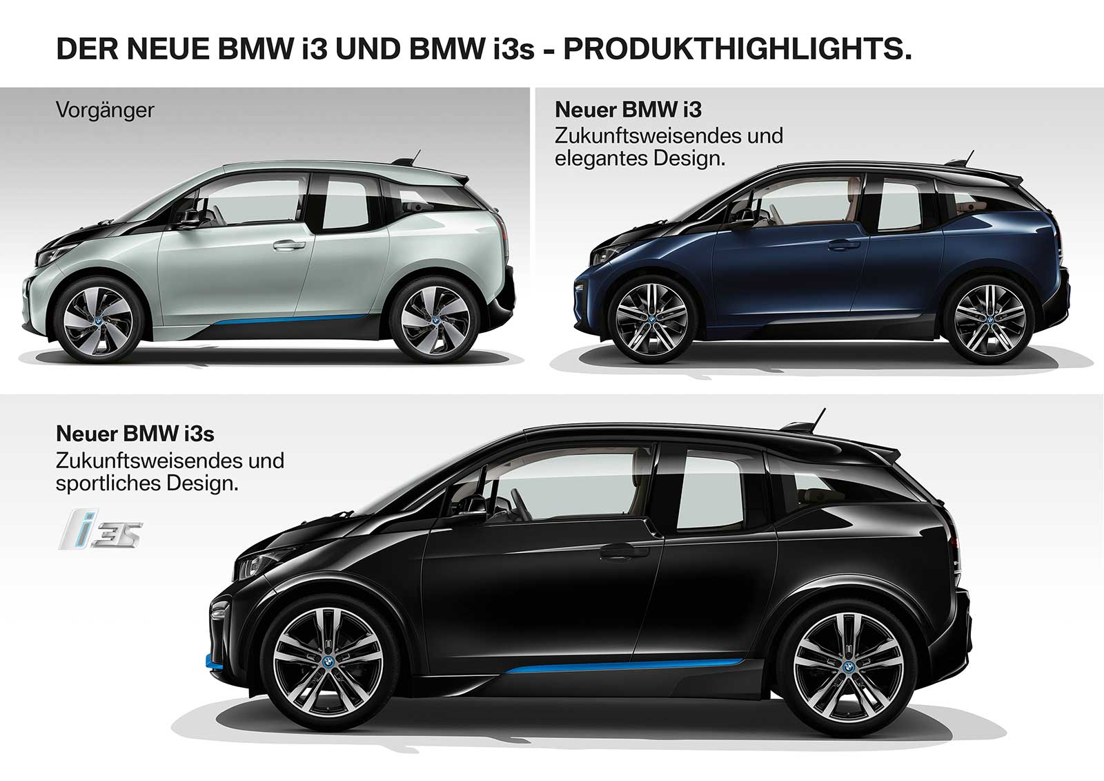 comparison 2017 bmw i3 vs 2018 bmw i3 i3s bimmerfile. Black Bedroom Furniture Sets. Home Design Ideas