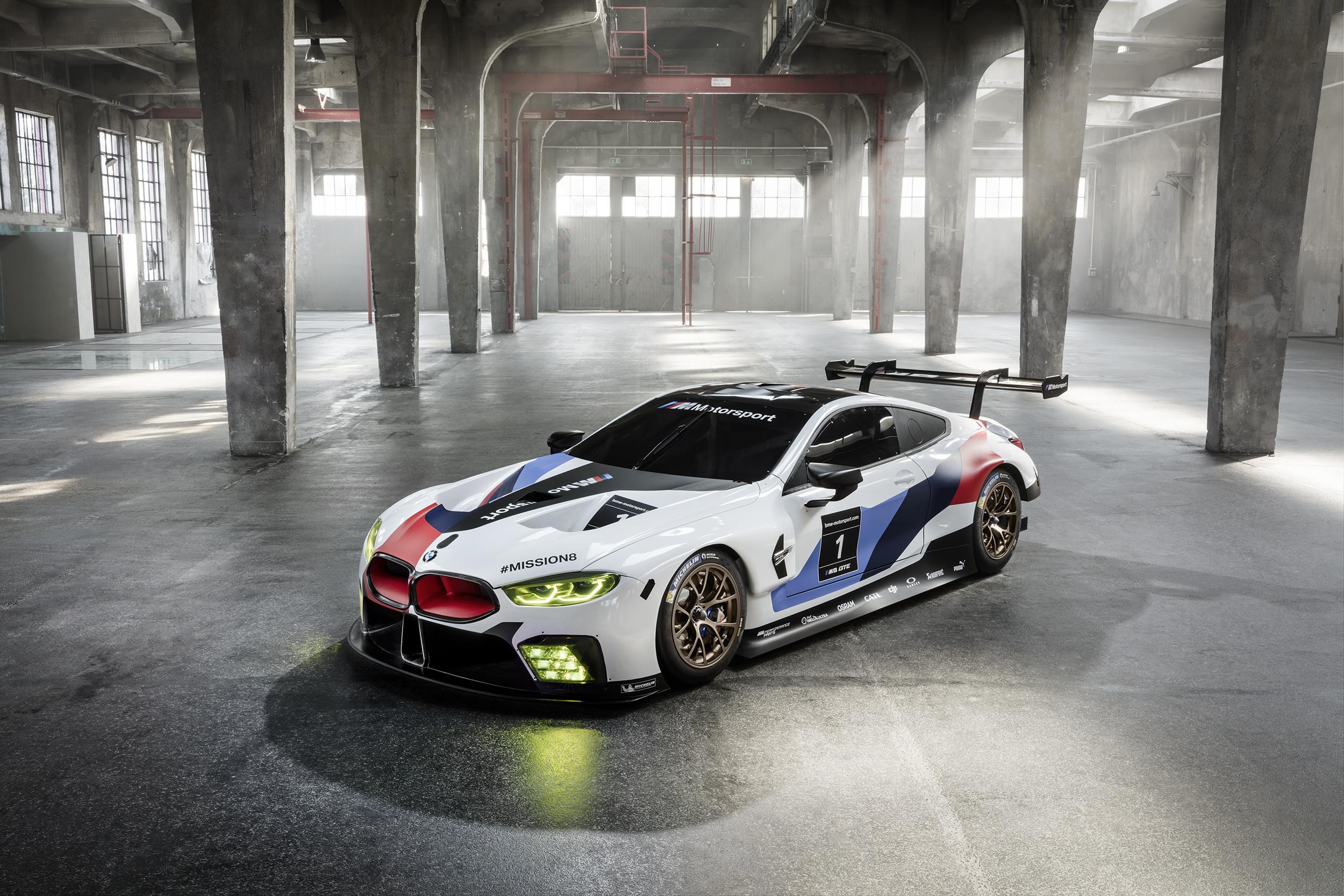 World Premier: The BMW M8 GTE Race Car - BimmerFile