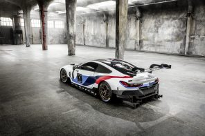World Premier: The BMW M8 GTE Race Car