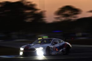 The BMW M8 GTE Finishes 2nd at Sebring