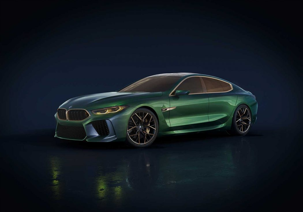 world premier bmw m8 gran coupe concept bimmerfile. Black Bedroom Furniture Sets. Home Design Ideas