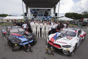 The BMW M8 GTE Wins at VIR