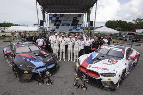 The BMW M8 GTE Wins at VIR