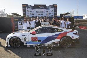 The BMW M8 GTE Wins at Laguna Seca
