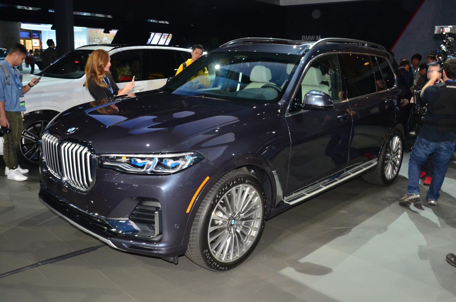 BMW X7 2018 LA Auto Show