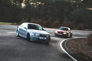 The BMW E46 M3 CSL vs M2 Competition – Autocar Pits Old Against New
