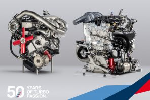 The New BMW DTM Engine, as Compared to the First Turbo from 1969