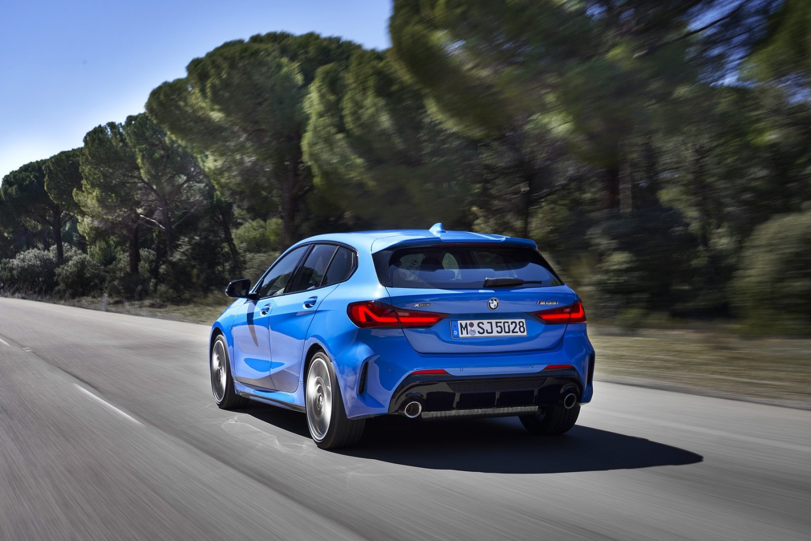 Electric BMW 1 series
