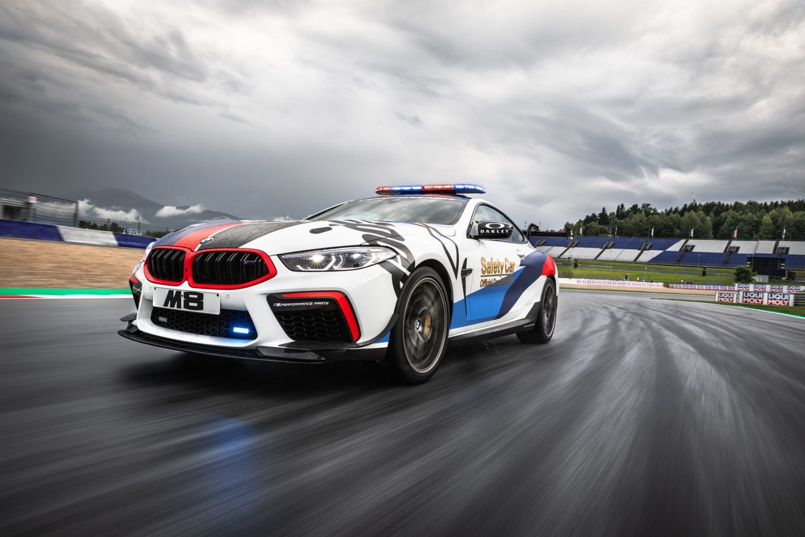 The BMW M8 MotoGP Safety Car