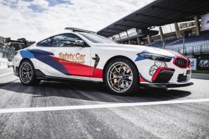 World Premier: The BMW M8 MotoGP Safety Car