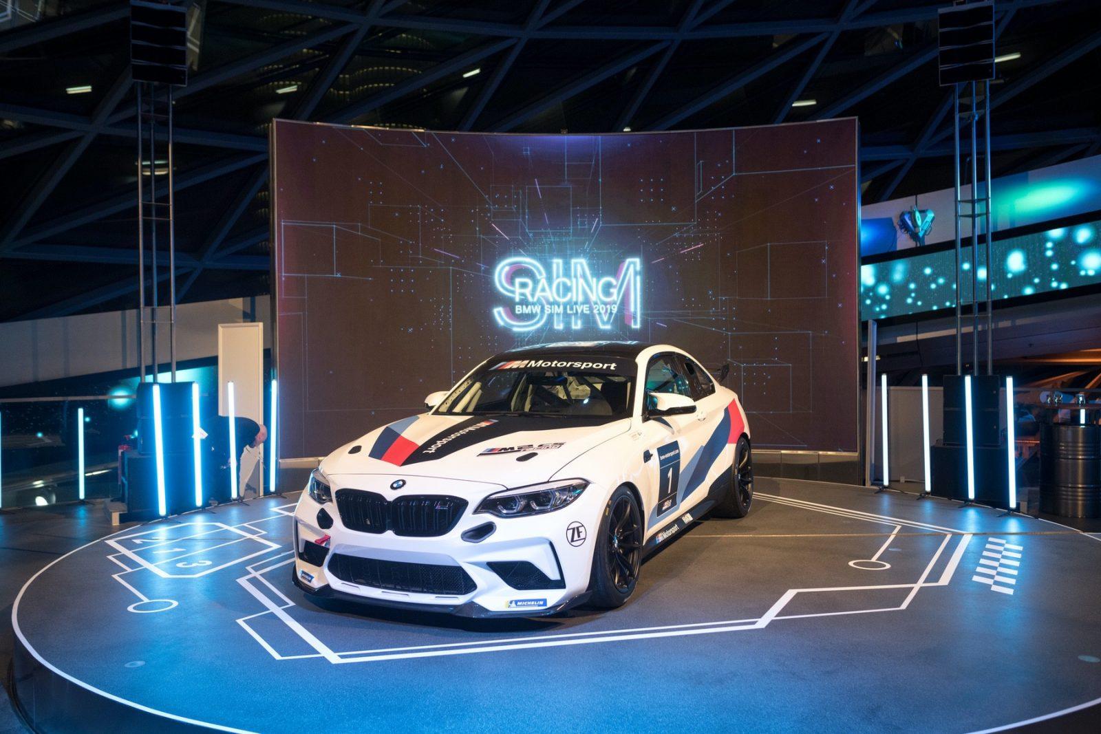 BMW M2 CS race car